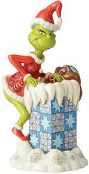 Grinch Climbing into Chimney (figuuri)
