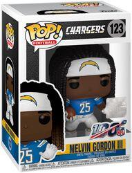 Los Angeles Chargers - Melvin Gordon III Vinyl Figure 123 (figuuri)