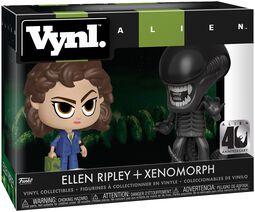 Ellen Ripley + Xenomorph (VYNL) Vinyl Figure (figuuri)
