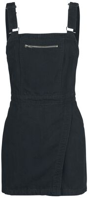 Dungaree Wrap Dress