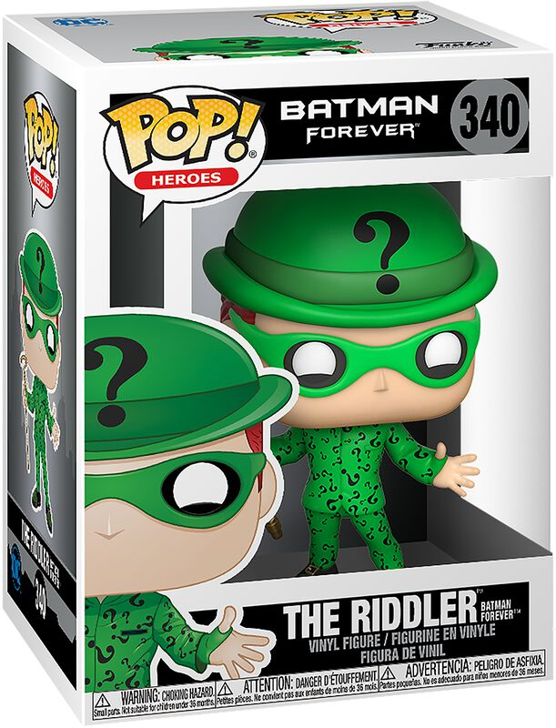 Batman Forever - The Riddler Vinyl Figure 340 (figuuri)