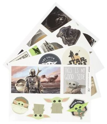 The Mandalorian - The Child decals