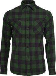 Checked Flannel Shirt flanellipaita