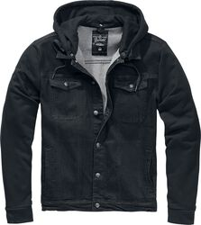 Cradock Denim Hooded Vest farkkupaita