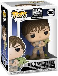 Empire Strikes Back 40th Anniversary -  Luke Skywalker & Yoda Vinyl Figure 363 (figuuri)