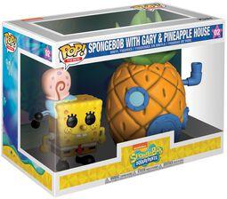 Spongebob with Gary and Pineapple House (Pop! Town) Vinyl Figure 02 (figuuri)