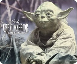 Yoda - Great Warrior - hiirimatto