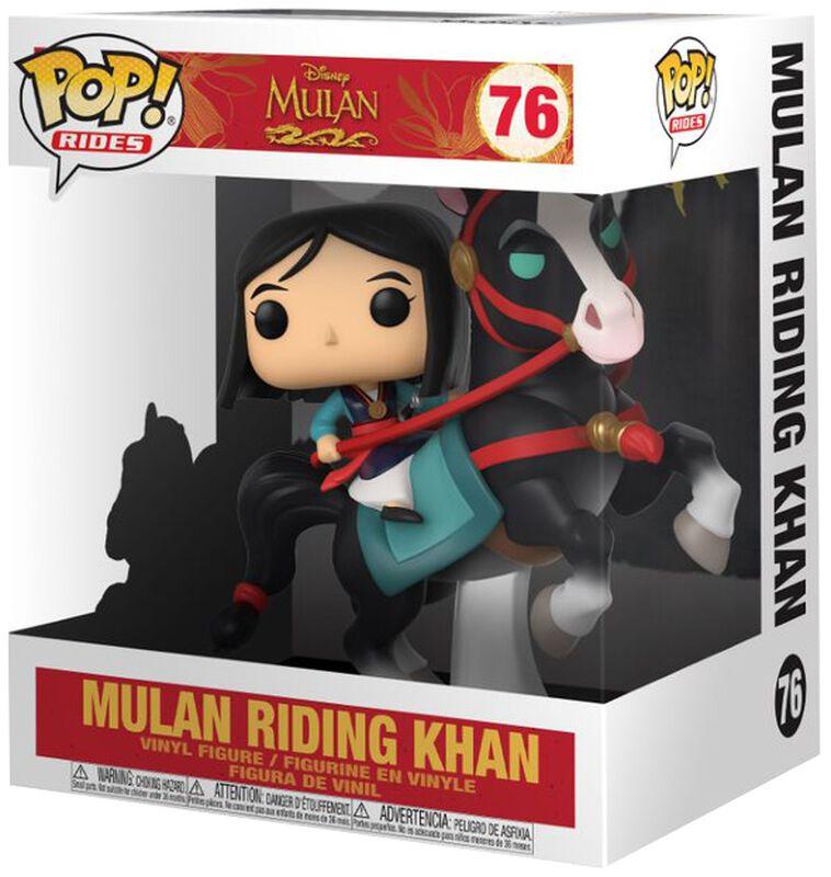 Mulan on Khan POP! Rides Vinyl Figure 76 (figuuri)
