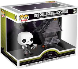 Nightmare Before Christmas Jack Skellington and Jacks House - Vinyl Figure 07 (figuuri)