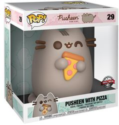 Pusheen with Pizza (Life Size) Vinyl Figure 29 (figuuri)