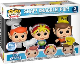 Kellogg's Snap Crackle Pop - Rice Krispies (3 kpl setti) (Funko Shop Europe)