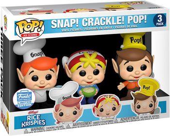 Kellogg's Snap Crackle Pop - Rice Krispies (3 kpl setti) (Funko Shop Europe)