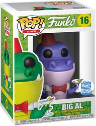 Fantastik Plastik - Big Al - (Funko Shop Europe) Vinyl Figure 16 (figuuri)