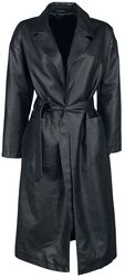 New York Oversize PU Coat