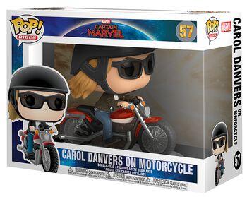 Carol Danvers on Motorcycle Pop Rides Vinyl Figure 57 (figuuri)