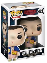 Eleven with Eggos (Chase-mahdollisuus) Vinyl Figure 421 (figuuri)