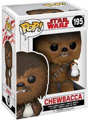 Episode 8 - The Last Jedi - Chewbacca with Porg Vinyl Bobble Head 195 (figuuri)