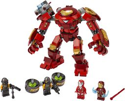 76164 - Iron Man Hulkbuster vs. A.I.M. Agent