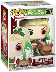 Harley Quinn With Helper (Holiday) Vinyl Figure 357 (figuuri)