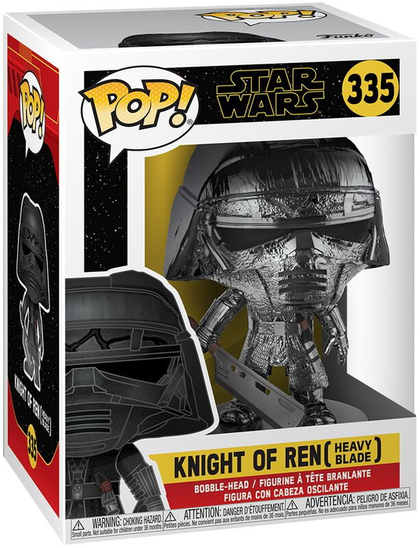 Episode 9 - The Rise of Skywalker - Knight of Ren (Heavy Blade) (Chrome) Vinyl Figure 335 (figuuri)
