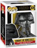 Episode 9 - The Rise of Skywalker - Knight of Ren (Heavy Blade) (Chrome) Vinyl Figure 335 (figuuri)