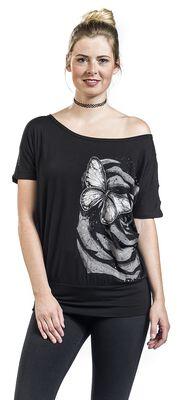 T-paita perhospainatuksella