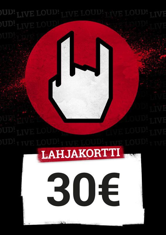 Lahjakortti 30,00 EUR