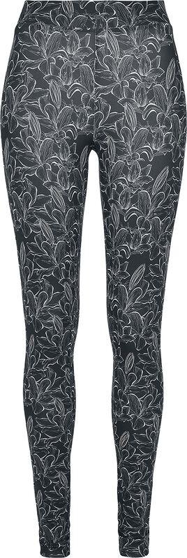 Ladies AOP Hibiscus Leggings leggingsit
