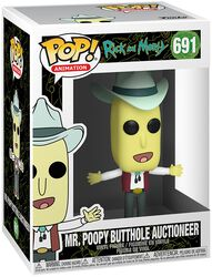 Season 4 - Mr. Poopy Butthole Auctioneer Vinyl Figure 691 (figuuri)