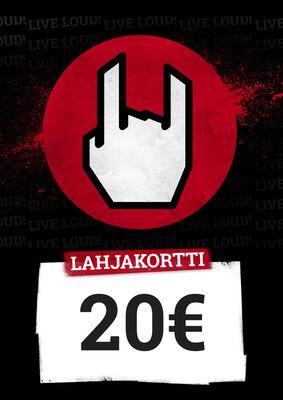 Lahjakortti 20,00 EUR