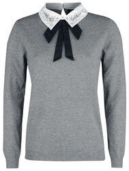 Bling Collar Sweater
