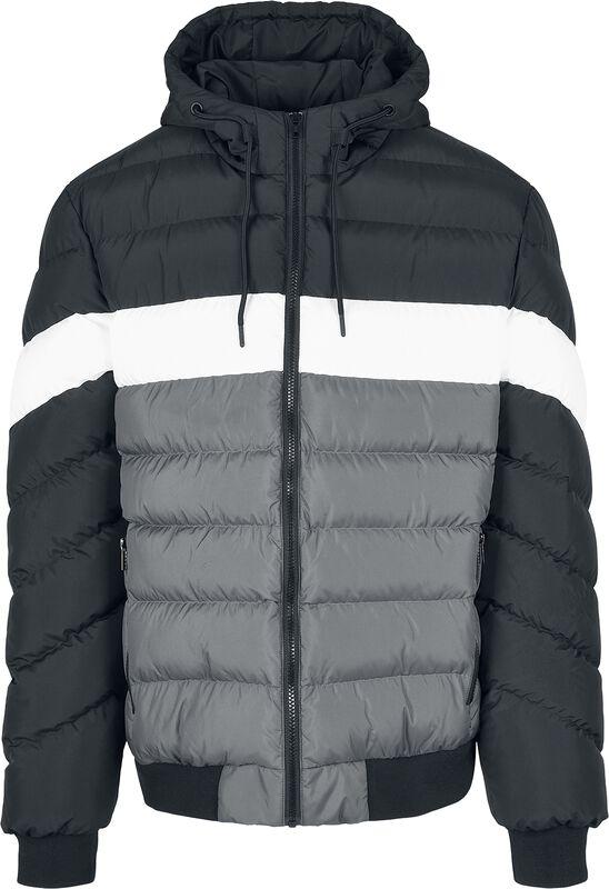 Colorblock Bubble Jacket talvitakki