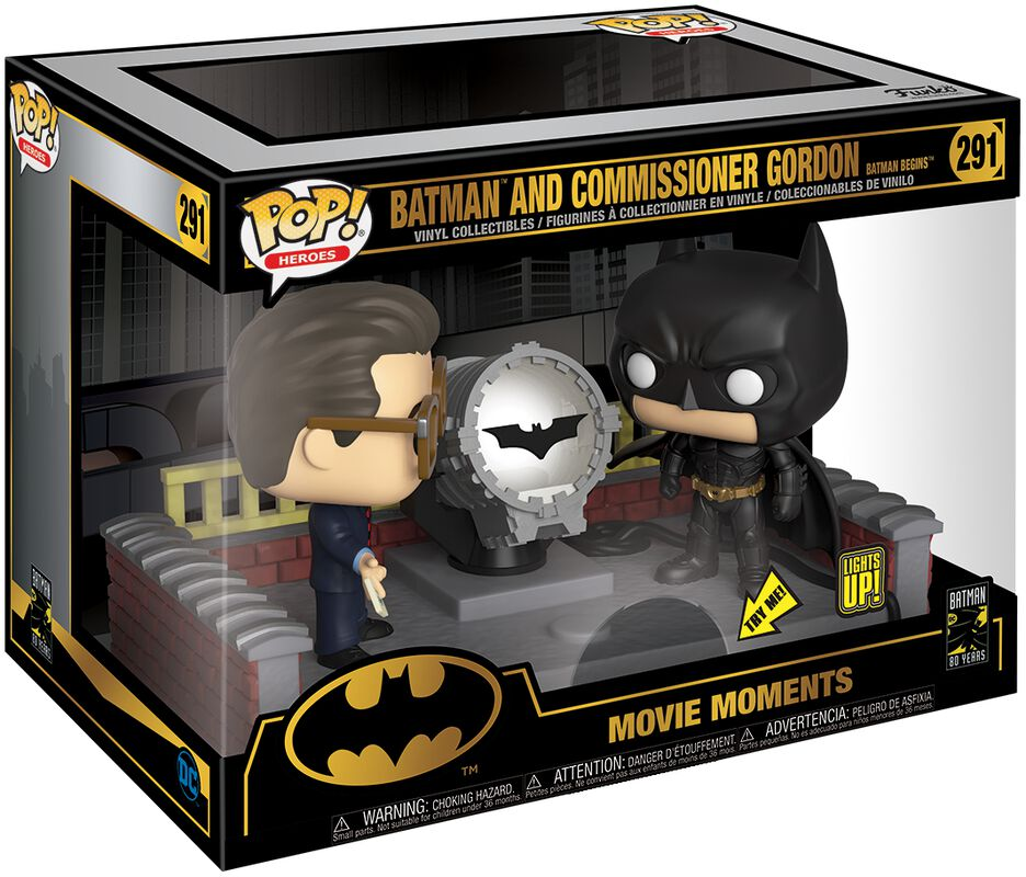 80th - Batman and Commissioner Gordon (Movie Moments) Vinyl Figure 291 (figuuri)