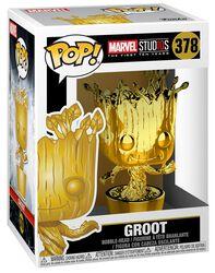 Marvel Studios 10 - Groot (Chrome) Vinyl Figure 378 (figuuri)