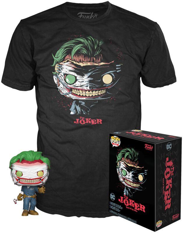 The Joker (DotF) (GITD) POP!-figuuri & T-paita