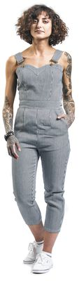 Anthea Fitted Stripe Overalls