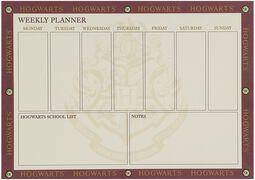 Platform 9 3/4 - viikkokalenteri
