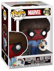 Deadpool as Bob Ross Vinyl Figure 319 (figuuri)