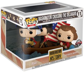 American History - Washington crossing the Delaware (Historical Moments) Funko Vinyl Figure 11 (figuuri)