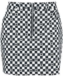 Pokerface Mini Skirt