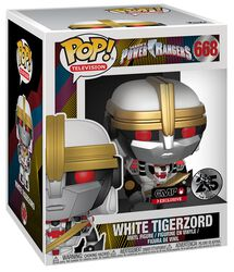 Power Rangers White Tigerzord (Oversized) Vinyl Figure 668 (figuuri)