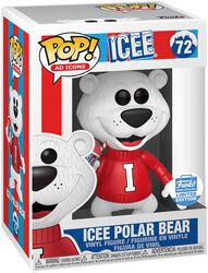 Ad Icons: Icee Polar Bear (Funko Shop Europe) Vinyl Figure 72 (figuuri)