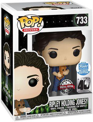 40th - Ripley Holding Jonesy (Funko Shop Europe) Vinyl Figure 733 (figuuri)