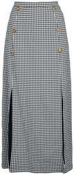 Summer Breeze Slit Detail Skirt