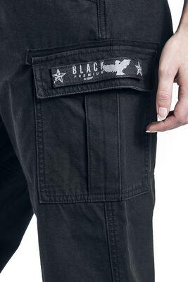 Armeijatyyliset vintage-shortsit