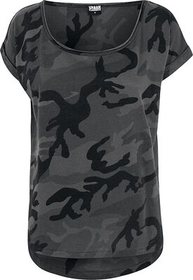 Camo Back Shaped Tee