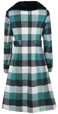 Beatrice Woolly Check Coat