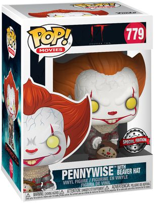 Chapter 2 - Pennywise with Beaver Hat Vinyl Figure 779 (figuuri)