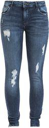 Kimmy NW Ankle Zip Jeans AZ003