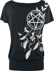 Pentagram and Dreamcatcher T-shirt